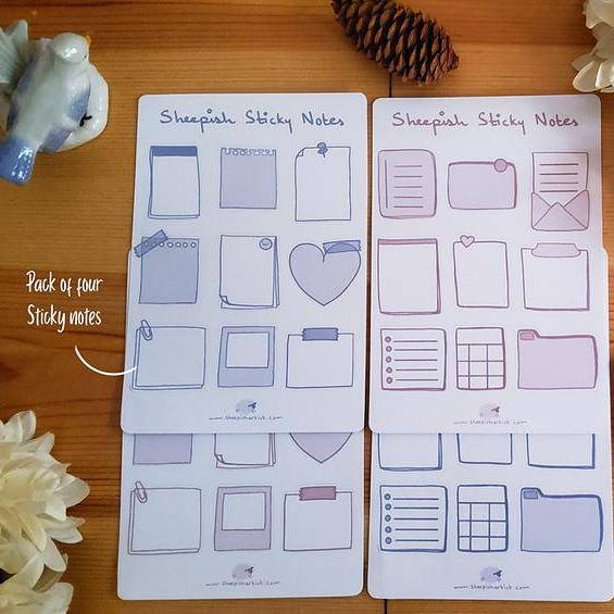 Sheepish Sticky Notes